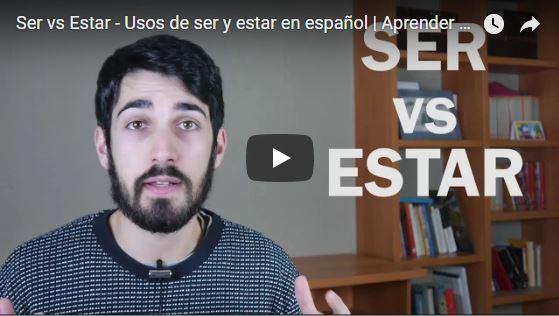 Ser vs Estar – Usos de ser y estar en español