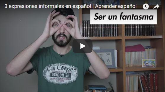 3 expresiones informales en español