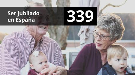 339. Ser jubilado en España
