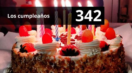 342. Los cumpleaños
