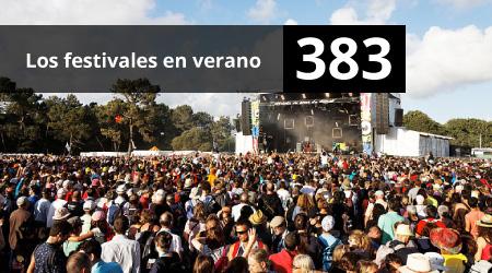 383. Los festivales en verano