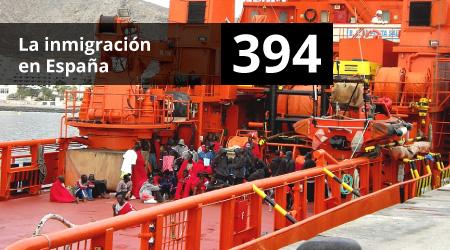 394. La inmigración en España