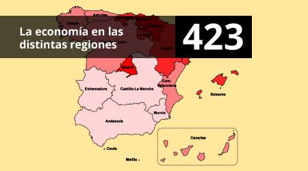 423. La economía en las distintas regiones
