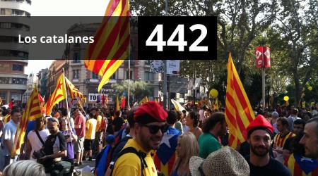 442. Los catalanes