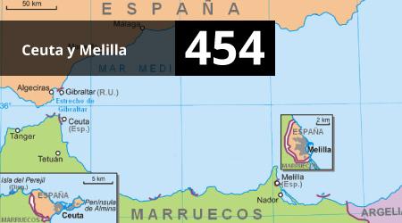 454. Ceuta y Melilla