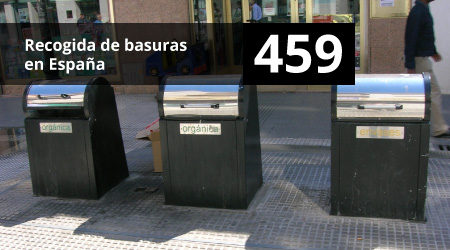 459. Recogida de basuras en España